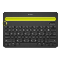 Logitech Multi-Device Keyboard K480 Black Bluetooth