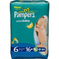 Pampers Active Baby 15+ кг (16)