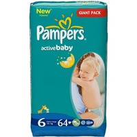 Pampers Active Baby 15+ кг (64)