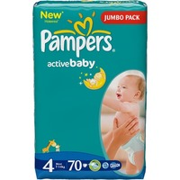 Pampers Active Baby 7-14 кг (70)
