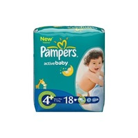 Pampers Active Baby 9-16 кг (18)