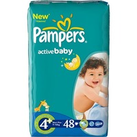 Pampers Active Baby 9-16 кг (48)