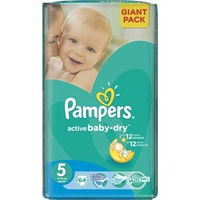 Pampers Active Baby-Dry 11-18 кг (64)