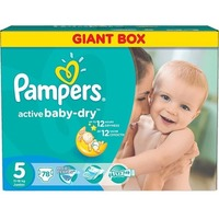 Pampers Active Baby-Dry 11-18 кг (78)