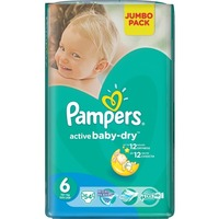 Pampers Active Baby-Dry 15+ кг (54)