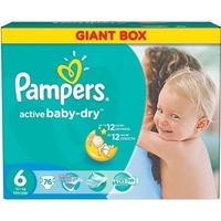 Pampers Active Baby-Dry 15+ кг (76)