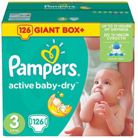 Pampers Active Baby-Dry 5-9 кг (126)