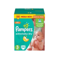 Pampers Active Baby-Dry 5-9 кг (150)