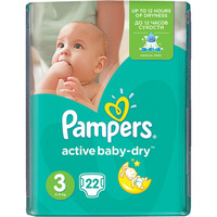 Pampers Active Baby-Dry 5-9 кг (22)