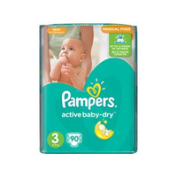 Pampers Active Baby-Dry 5-9 кг (90)