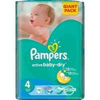 Pampers Active Baby-Dry 7-14 кг (76)