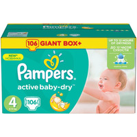 Pampers Active Baby-Dry 8-14 кг (106)