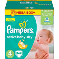 Pampers Active Baby-Dry 8-14 кг (147)