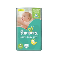 Pampers Active Baby-Dry 8-14 кг (76)