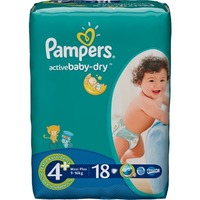 Pampers Active Baby-Dry 9-16 кг (18)