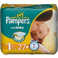 Pampers New Baby 2-5 кг (27)