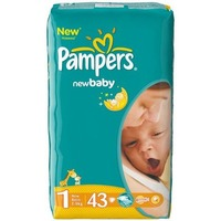 Pampers New Baby Dry 2-5 кг (43)