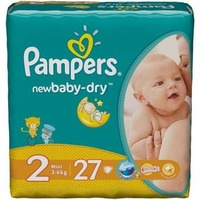 Pampers New Baby Dry 3-6 кг (27)