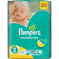 Pampers New Baby Dry 3-6 кг (76)