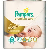 Pampers Premium Care 3-6 кг (22)