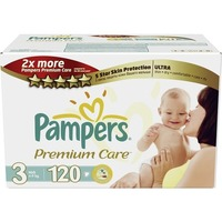 Pampers Premium Care 4-9 кг (120)