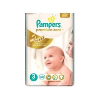 Pampers Premium Care 5-9 кг (60)