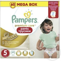 Pampers Premium Care Pants 12-18 кг (60)